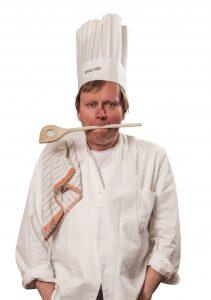 Rudolf (hier als Koch Heinz)
